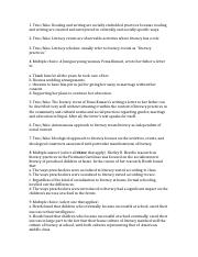 Ahearn Chapter 7 study questions