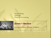 Exam 1 concepts review
