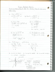 Functions Exam Review Part 2