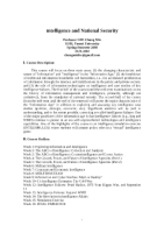 Intelligence_New_Syllabus_Spring_2008_