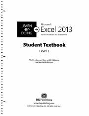 Learn By Doing Microsoft Excel 2013.pdf