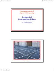Lecture 2.4 - Post-tensioned Slabs.pdf