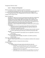 Management 3304 Exam 1 Notes.docx