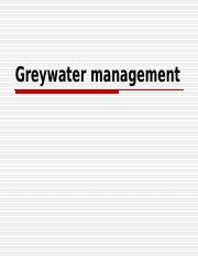 Lecture 5 (Greywater management).ppt