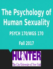 The psychology of human sexuality edition 1