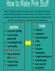 Pink Stuff Recipe PowerPoint TECHEnglish2311 .pptx