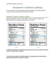 assignment ii nutrition Start studying chapter 2 post-test nutrition learn vocabulary, terms, and more with flashcards, games, and other study tools.
