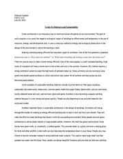 sustainability essay green architecture and sustainability essay  green architecture and sustainability essay deborah huebert envs green architecture and sustainability essay deborah huebert envs