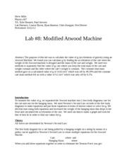 modified atwood machine lab