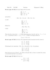 MATH 105 Homework 3 Solutions