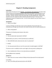 Reading Assignment-08 Ch 8 (5thEd).docx