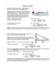 Chapter 10 worksheet sol