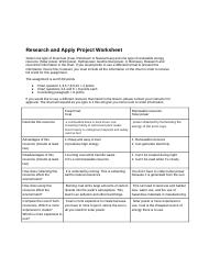 ResearchandApplyProjectWorksheet3.06-2