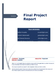 IDS 520 Final Project Report