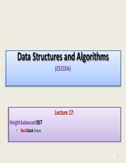 CS210-Lecture-17-RB-tree-I