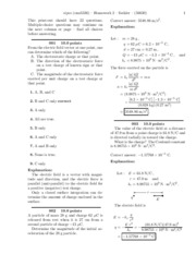 PHY 309L Homework 2-solutions