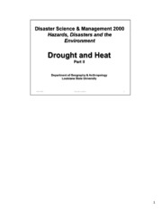 HeatDrought_II_Notes
