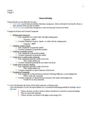 CH301 - chapter 7 notes