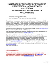 2010_modification_ifac_code_of_ethics