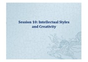 Session 10-Intellectual Styles  Creativity.pdf