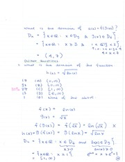 MATH 133 The Chain Rule Notes