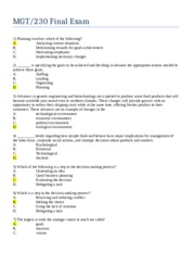 mgt230 final exam with answers Deep blue june 8th, 2010 posted in links, video tagged links, video leave a  reply click here to cancel reply name (required) mail (will not be published).