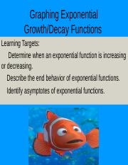 Graphing Exponential Functions.ppt