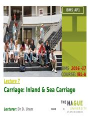 Lecture 7. Inland & Water carriage(1).pptx