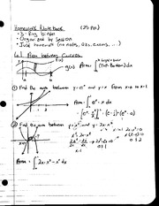 MAT 241 - Notes 6.1 Area Between Curves