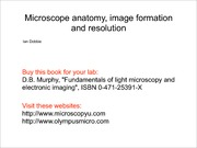 Lecture02-Principles of Microscopy and Microscope Anatomy