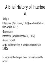 A Brief History of Interbrew (1).pptx