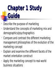 purpose of marketing mix