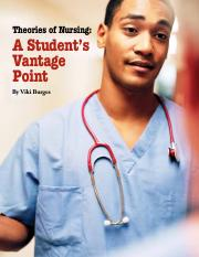 Theories of Nursing-Student's Vantage Point