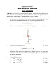 SQQM2034 CALCULUS II A151 Group Assignment 2