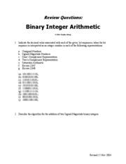 Review-Questions-on-Binary-Integer-Arithmetic