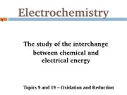 Electrochemistry Notes