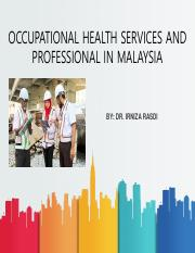 W2 Occupational Health Services and Professionals