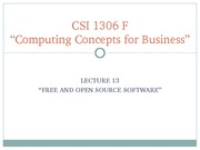 13_Free&OpenSourceSoftware