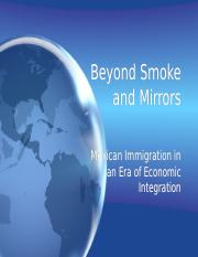 Beyond Smoke and Mirrors.ppt