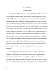 anthropology observation essay part observation essay poudre 5 pages anthropology part 2 participation