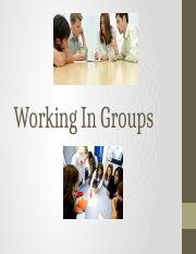 Working In Groups(1).pptx