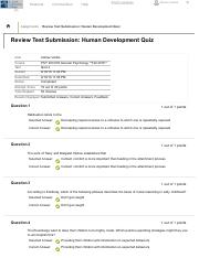 Review Test Submission_ Human Development Quiz – .
