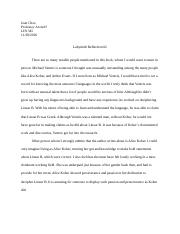 LIN345 Reflection 2.docx