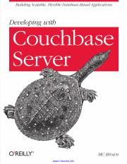 Developing with Couchbase Server.pdf