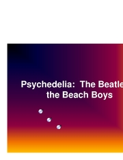 Microsoft PowerPoint - Psychedelia