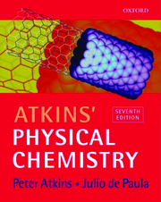 Physical chemistry, Solutions to 7ed 2002 - Atkins & de Paula