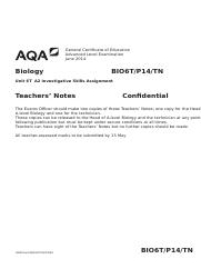 AQA-BIO6T-P14-TN-JUN14