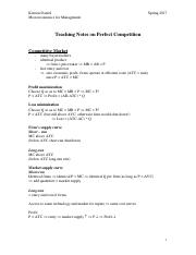 Teaching Notes on Perfect Competition.pdf