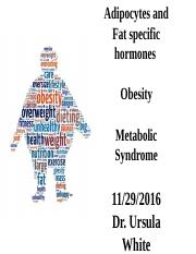 Obesity and Metabolic Syndrome 2016 in class