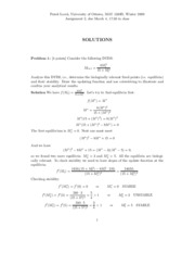 Calculus 1 - Assignment 2 Solutions